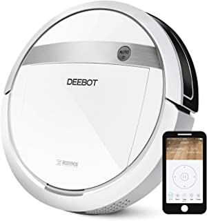 ECOVACS DEEBOT M88 Robotic Vacuum Cleaner for Pet Hair, Carpet and Bare Floors, Wifi Connected, Compatible with Alexa (Ren...