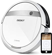 ECOVACS DEEBOT M88 Robotic Vacuum Cleaner for Pet Hair, Carpet and Bare Floors,  Wifi Connected, Compatible with Alexa (Renewed)