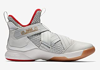 NIKE Men's Zoom Lebron Soldier XII Basketball Shoes (9.5-M)