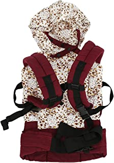 Baby Carrier Sling Sunzit Baby Wrap Carrier Cotton Fabric Sling for Newborn Babies Carriers Cover Lightweight and Breathable Baby Sling Carrier for Photography Props Pink