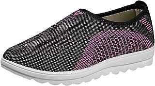FAMILIZO Zapatillas Mujer Running Zapatillas Deportivas De Mujer Sneakers Women Primavera Moda Mujer Malla Elevadora Zapatos Suave Bottom Zapatos De Mecedora Caminar Zapatillas Deportivas