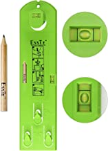 Esste Picture Frame Level Ruler - Suspension measurement marking position tool with a pencil for measuring the suspension and horizontal wall of the roof …