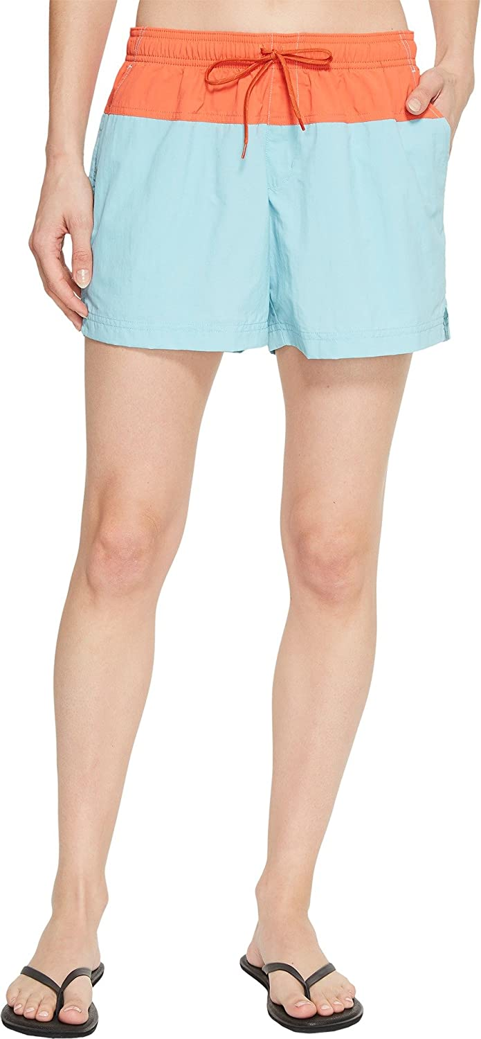 Columbia Womens Sandy River color Blocked Short Hiking Shorts