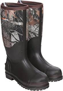 Rubber Hunting Boots for Men Waterproof Insulated Men's Neoprene Muck Outdoor Boots