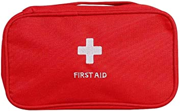 Nuluxi Tragbare Rot Erste Hilfe Tasche Tragbar Leer Medizinische Tasche Erste Hilfe Leer Aufbewahrungstasche Ideal f/ür Notf/älle in der Familie und Zuhause Auto Reisen Camping und Outdoor Aktivit/äten