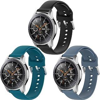 Vozehui Compatible with Fossil Gen 5 Carlyle/Julianna/Garrett/Carlyle HR Watch, Soft Silicone Adjustable Replacement Wrist...