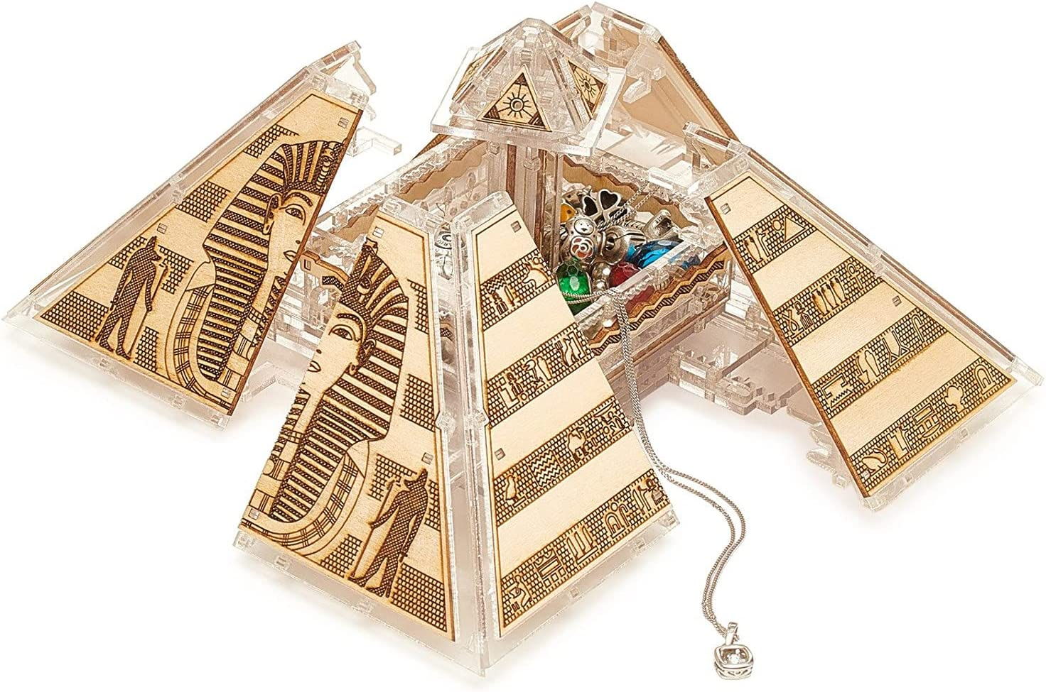 Veter Models Egyptian Pyramid 3D – National Colorado Springs Mall products Puzzle Sh Wooden