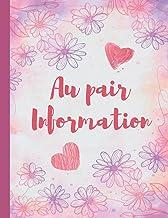 Au pair Information: Notepad for Women Child-Care Worker Log Book, Babysitting Checklist Workbook for Girls, Baby-Sitting ...