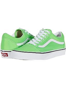 mens sneakers green