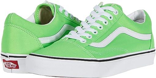 (Neon) Green Gecko/True White