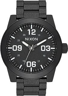 Nixon Corporal SS Watch Cinder Cerakote 48mm