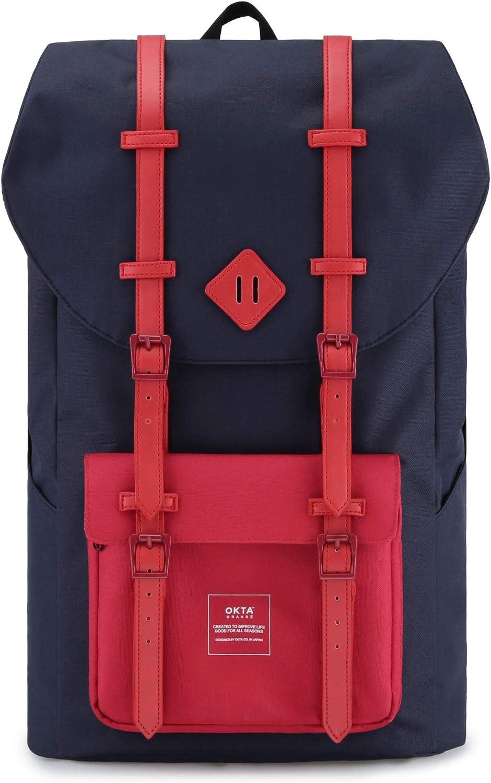 Hiking Laptop Waterproof Backpack for Max 83% OFF Genuine - School Men Back Computer