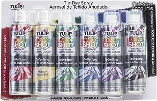 Tulip 37639 Fabric Spray Paint, Multicolor