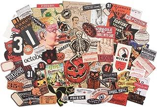 Tim Holtz 2019 Halloween Idea-Ology, Halloween Ephemera