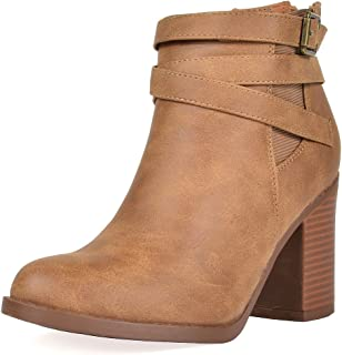Women's Chicago Chunky Heel Ankle Booties