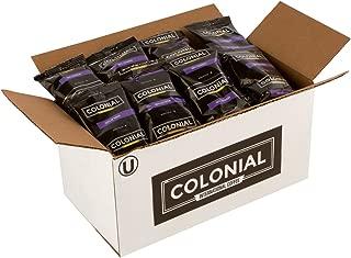 Colonial Coffee, 100% Colombian, Medium Roast Ground Coffee, 2.5 OZ Fraction Packs, 32 COUNT box, Bulk Bags