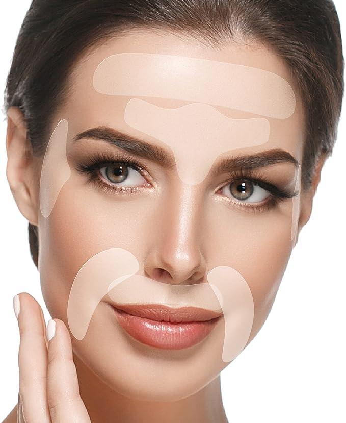 3140 opinioni per Blumbody- 165 Cerotti Antirughe per il viso- Strisce Antirughe per combattere le