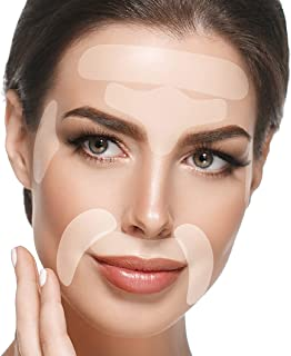 Blumbody Face Wrinkle Patches - 165 Facial Anti Wrinkle Patches for Smoothing Eye, Mouth or Forehead Wrinkles - Wrinkle Pa...