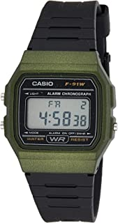 Casio Men's F91 Digital Watch Resin Green