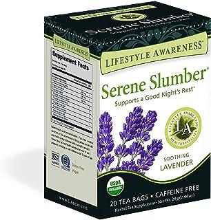 Lifestyle Awareness Teas Caffeine Free Tea, Serene Slumber, 6 Count