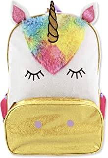 Unicorn Girls 16 inch Fantasy School Backpack (One, Pink/White, Size One Size