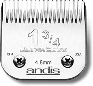Andis 65685 UltraEdge Carbon-Infused Steel Clipper Blade, Size 1-3/4, 3/16-Inch Cut Length
