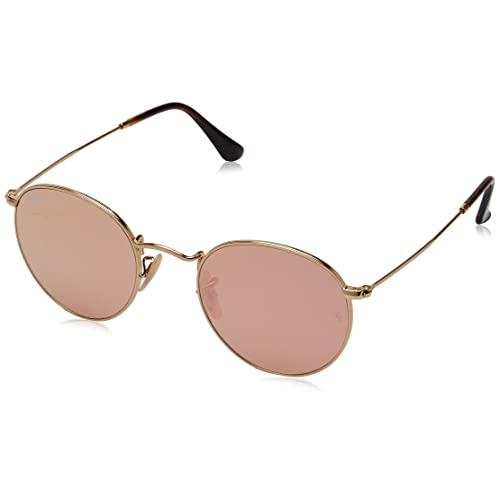 cb6eb9b7a8a Ray-Ban Round Metal 0RB3447N Round Sunglasses