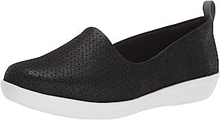 حذاء مسطح مسطح بدون كعب من Clarks للسيدات