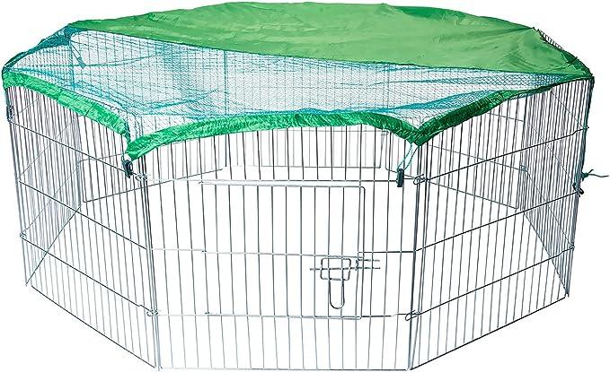 331 opinioni per AQPET Recinto recinzione box per animali cani gatti roditori 60x60cm per esterno