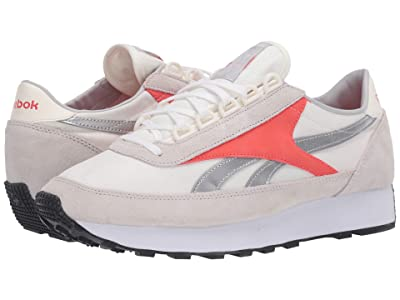 Reebok Lifestyle Az Princess (Chalk/Vivid Orange/Silver Metallic) Women