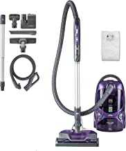 Kenmore 81615 600 Series Pet Friendly Lightweight Bagged Canister Vacuum with Pet PowerMate, Pop-N-Go Brush, 2 Motors, HEP...