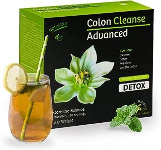 Liber-Tea Colon Cleanse Detox Tea, Colon Detox Tea, Supports Cleanse, Detox, Regulate & Weight Loose, Night Cleanse Tea, Body Cleansing Tea, Tea Cleanse for Men & Women, Serve Hot or Cold (30 Pack)