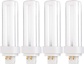 PL13W/2U/4P/5000K - 13 Watt Double Tube - G24Q-1 (4 Pin) Base - 5000K Bright White Color Temperature - Compact Fluorescent...