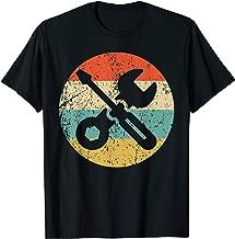 Car Mechanic Shirt - Retro Screwdriver Wrench T-Shirt