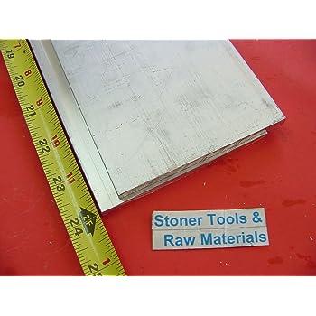 """1/"""" X 6/"""" X 8/"""" aluminum 6061 T6511 new solid plate flat bar stock mill block MT"""