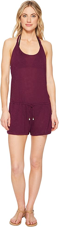 BECCA by Rebecca Virtue - Breezy Basics Romper Cover-Up