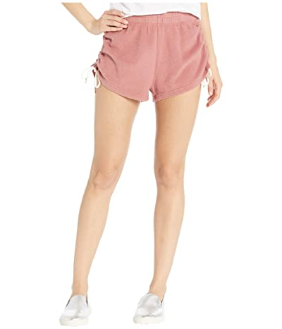 Volcom Lil Fleece Shorts (Rose Wood) Women