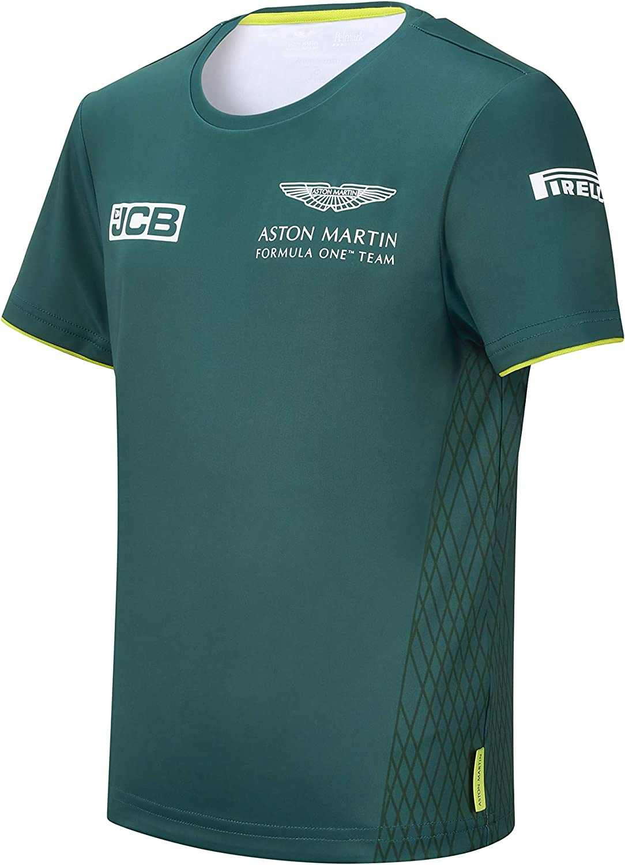 Aston Martin F1 Kid's 2021 Max 65% OFF T-Shirt Regular discount Team Green