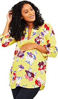 Button Front Maternity Shirt