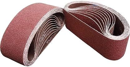 10 PACK Sand Devil 60-Grit Aluminum Oxide 3 x 21-Inch Sanding Belt