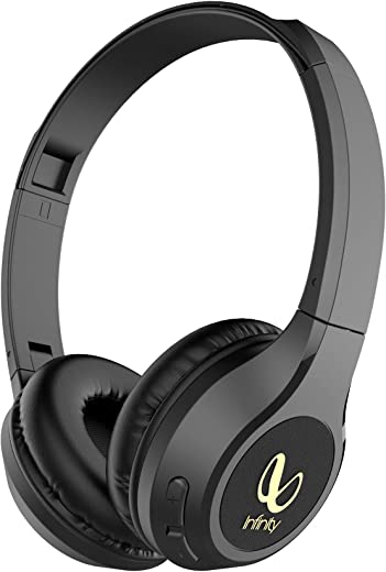 Infinity (JBL) Glide 510, 72 Hrs Playtime with Quick Charge, Wireless On Ear Headphone with Mic, Deep Bass, Dual Equalizer, Bluetooth 5.0 with…