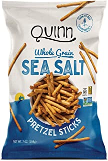 Quinn Snacks Non-GMO and Gluten Free Pretzels, Classic Sea Salt, 7 Ounce