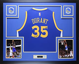 kevin durant signed warriors jersey