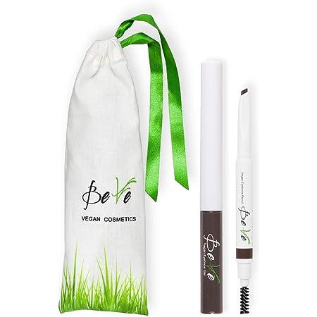 BeVe - Kit de peinado de cejas vegano con gel y lápiz