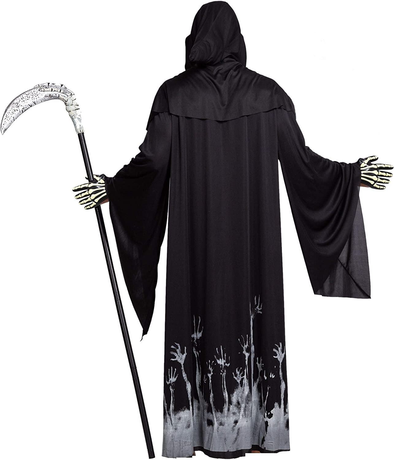 Spooktacular Creations Grim 55% OFF Max 84% OFF Reaper Cost Scary Skeleton Halloween