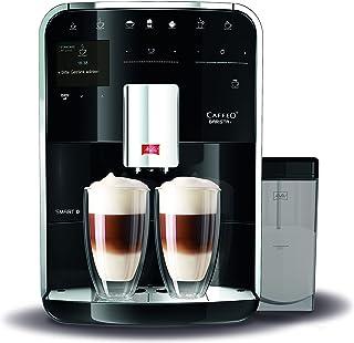 Melitta Barista T Smart F830-102 Cafetera automática, Molinillo Silencioso, Bluetooth, 18 Recetas, 1.8 L, 1450W, 15 Bar, Negro