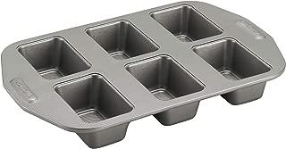 Circulon Nonstick Bakeware 6-Cup Mini Loaf Pan, Gray - 57632