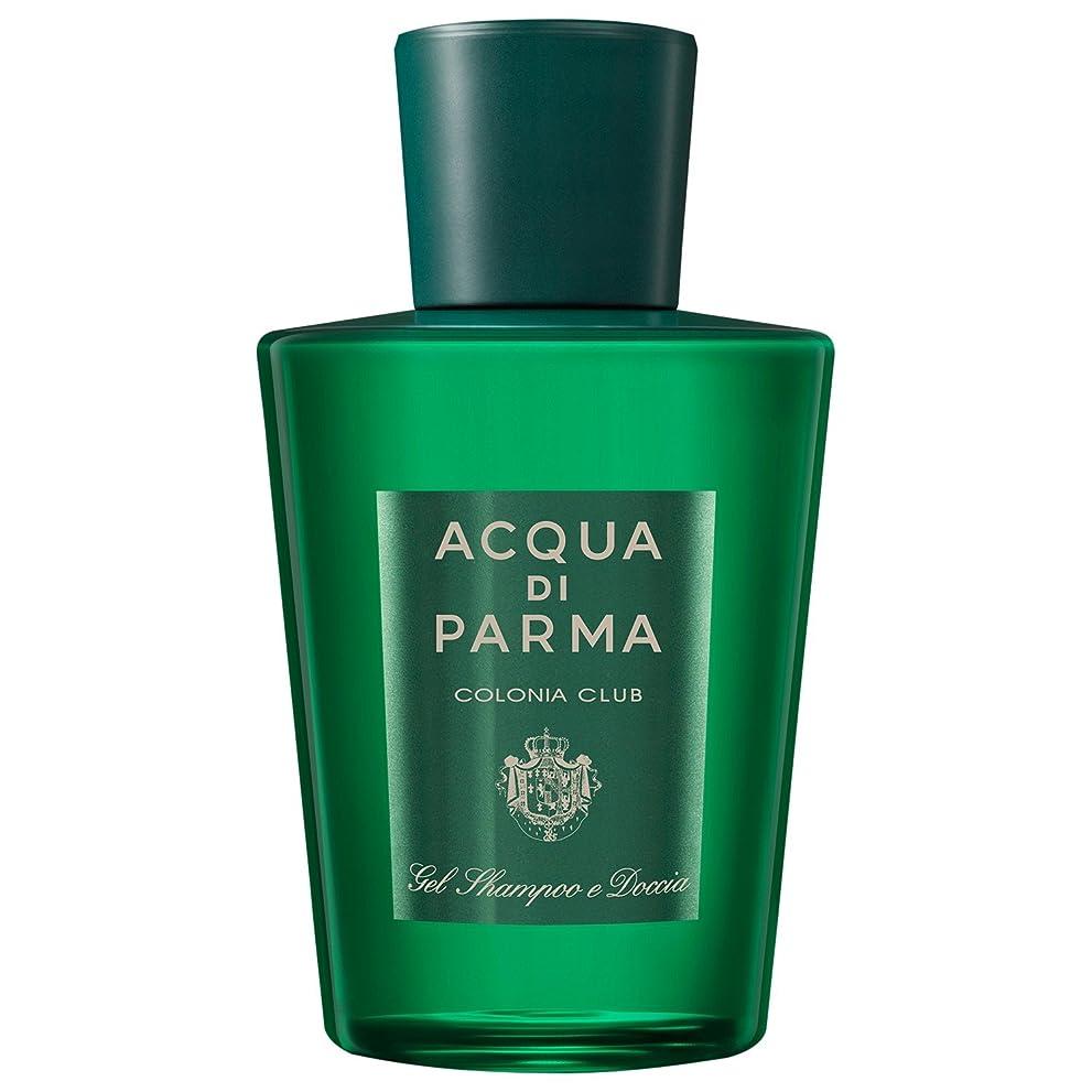 黙独立して嫌がるアクア?ディ?パルマコロニアクラブのシャワージェル200ミリリットル (Acqua di Parma) - Acqua di Parma Colonia Club Shower Gel 200ml [並行輸入品]