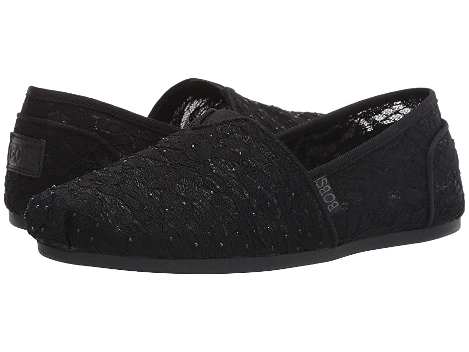 BOBS from SKECHERS Bobs Plush (Black) Women