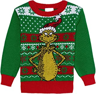 toddler grinch sweater